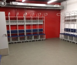 Modular floors on Datsyuk Arena